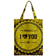 Happy Mother Day Zipper Classic Tote Bag by Simbadda