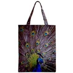 Peacock Bird Feathers Classic Tote Bag by Simbadda