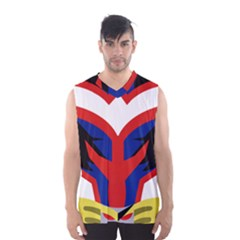 All M Suit Men s Basketball Tank Top by KibaRain