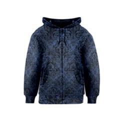 DMS1 BK-MRBL BL-STONE (R) Kids  Zipper Hoodie by trendistuff