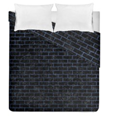 BRK1 BK-MRBL BL-STONE Duvet Cover Double Side (Queen Size) by trendistuff