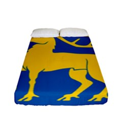 Coat Of Arms Of Aland Fitted Sheet (full/ Double Size) by abbeyz71