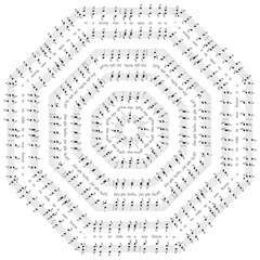 Jingle Bells Song Christmas Carol Folding Umbrellas by Simbadda