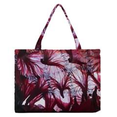 Jellyfish Ballet Wind Medium Zipper Tote Bag by Simbadda