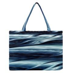 Texture Fractal Frax Hd Mathematics Medium Zipper Tote Bag by Simbadda