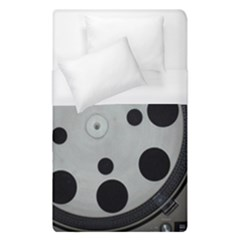 Turntable Record System Tones Duvet Cover (single Size) by Simbadda