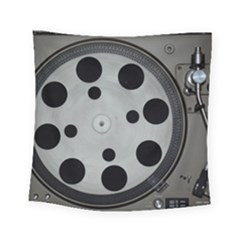 Turntable Record System Tones Square Tapestry (small) by Simbadda