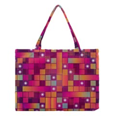 Abstract Background Colorful Medium Tote Bag by Onesevenart