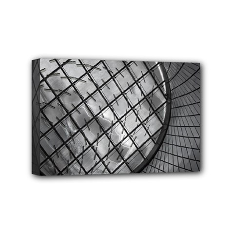 Architecture Roof Structure Modern Mini Canvas 6  X 4  by Onesevenart