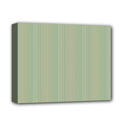 Background Pattern Green Deluxe Canvas 14  X 11  by Onesevenart