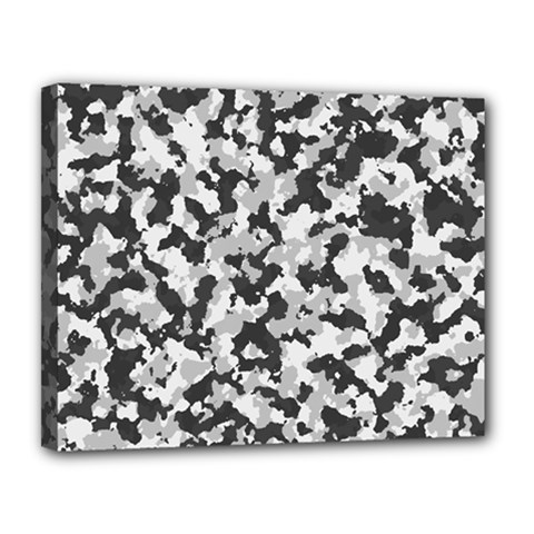 Camouflage Tarn Texture Pattern Canvas 14  X 11  by Onesevenart