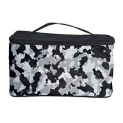 Camouflage Tarn Texture Pattern Cosmetic Storage Case by Onesevenart