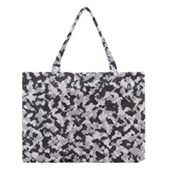 Camouflage Tarn Texture Pattern Medium Tote Bag by Onesevenart
