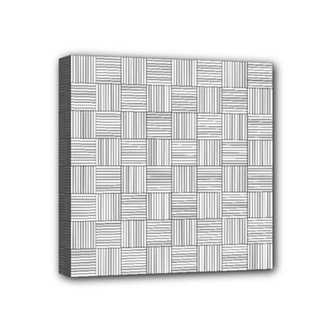 Flooring Household Pattern Mini Canvas 4  X 4  by Onesevenart