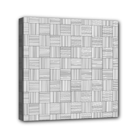 Flooring Household Pattern Mini Canvas 6  X 6  by Onesevenart