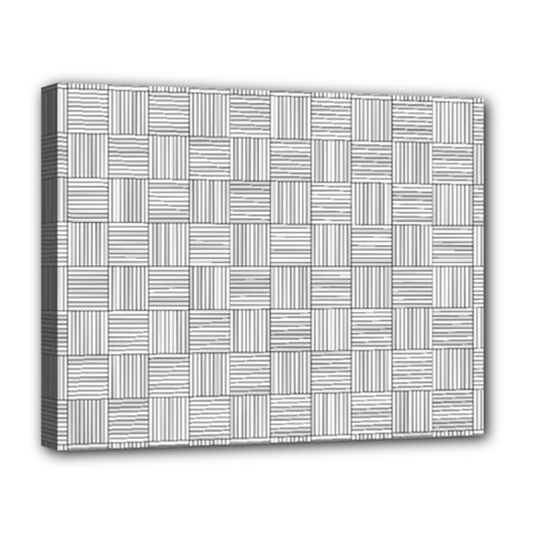 Flooring Household Pattern Canvas 14  X 11  by Onesevenart