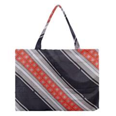 Bed Linen Microfibre Pattern Medium Tote Bag by Onesevenart