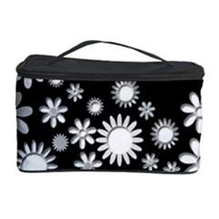 Flower Power Flowers Ornament Cosmetic Storage Case by Onesevenart