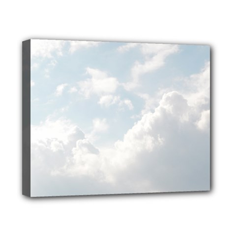 Light Nature Sky Sunny Clouds Canvas 10  X 8  by Onesevenart