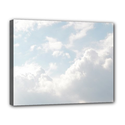 Light Nature Sky Sunny Clouds Canvas 14  X 11  by Onesevenart