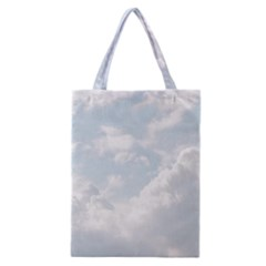 Light Nature Sky Sunny Clouds Classic Tote Bag by Onesevenart