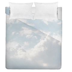 Light Nature Sky Sunny Clouds Duvet Cover Double Side (queen Size) by Onesevenart