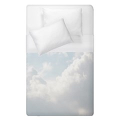 Light Nature Sky Sunny Clouds Duvet Cover (single Size) by Onesevenart