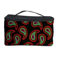 Pattern Abstract Paisley Swirls Cosmetic Storage Case by Onesevenart