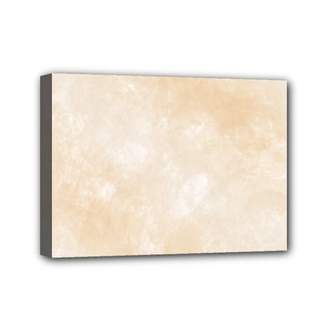 Pattern Background Beige Cream Mini Canvas 7  X 5  by Onesevenart