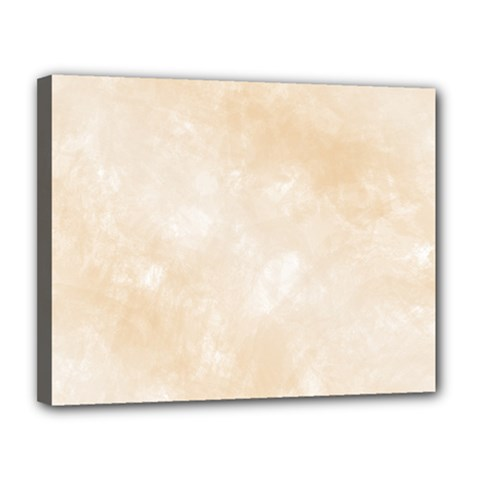 Pattern Background Beige Cream Canvas 14  X 11  by Onesevenart