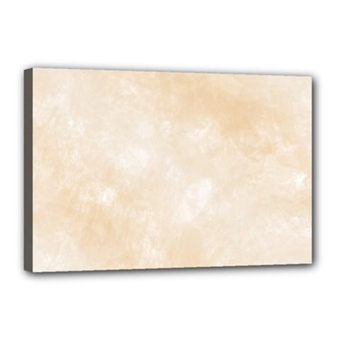 Pattern Background Beige Cream Canvas 18  X 12  by Onesevenart