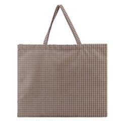Pattern Background Stripes Karos Zipper Large Tote Bag by Onesevenart