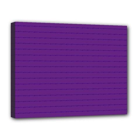 Pattern Violet Purple Background Canvas 14  X 11  by Onesevenart