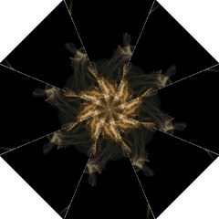 Smoke Fume Smolder Cigarette Air Hook Handle Umbrellas (large) by Onesevenart