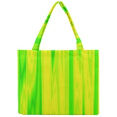 Shading Pattern Symphony Mini Tote Bag by Onesevenart