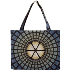 Stained Glass Colorful Glass Mini Tote Bag by Onesevenart