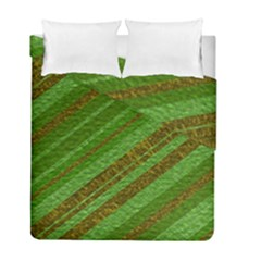 Stripes Course Texture Background Duvet Cover Double Side (full/ Double Size) by Onesevenart