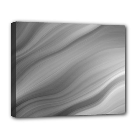 Wave Form Texture Background Deluxe Canvas 20  X 16   by Onesevenart