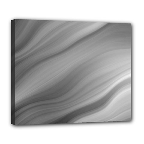 Wave Form Texture Background Deluxe Canvas 24  X 20   by Onesevenart