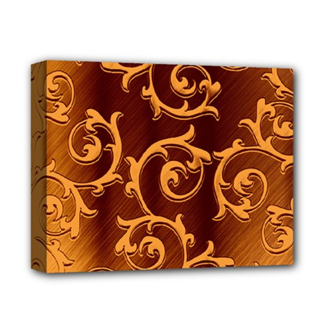 Floral Vintage Deluxe Canvas 14  X 11  by Onesevenart