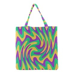 Mardi Gars Grocery Tote Bag by PhotoNOLA