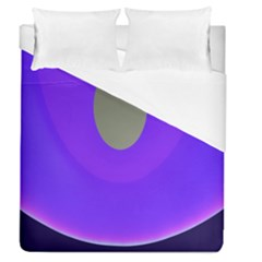 Ceiling Color Magenta Blue Lights Gray Green Purple Oculus Main Moon Light Night Wave Duvet Cover (queen Size) by Alisyart