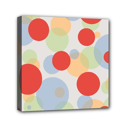 Contrast Analogous Colour Circle Red Green Orange Mini Canvas 6  X 6  by Alisyart
