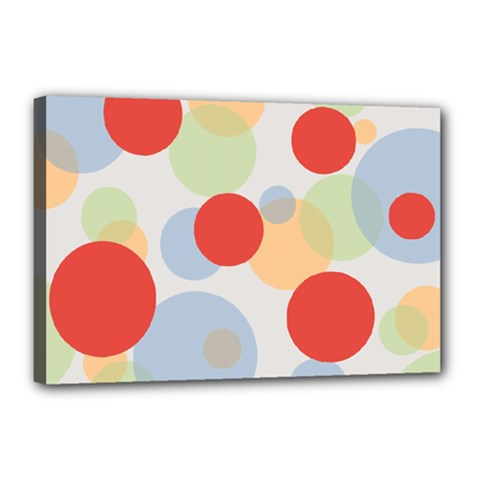 Contrast Analogous Colour Circle Red Green Orange Canvas 18  X 12  by Alisyart
