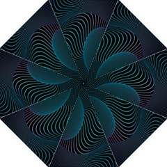 Line Light Blue Green Purple Circle Hole Wave Waves Straight Umbrellas by Alisyart