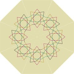Shape Experimen Geometric Star Sign Golf Umbrellas by Alisyart