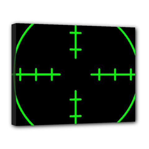 Sniper Focus Canvas 14  X 11  by Alisyart