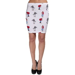 Hotline Bling Bodycon Skirt by Onesevenart