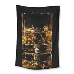 Drink Good Whiskey Small Tapestry by Onesevenart