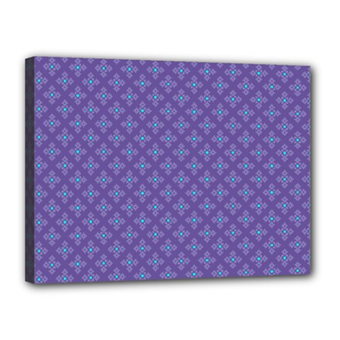 Abstract Purple Pattern Background Canvas 16  X 12  by TastefulDesigns